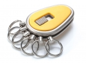 Key Organizer Nickel matt Gelb